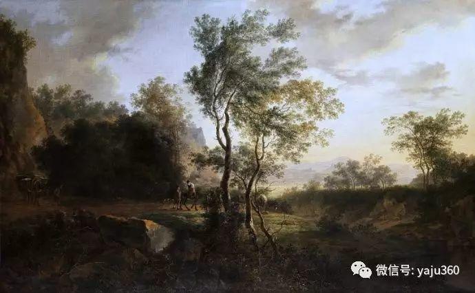 Jan Dirksz Both 风景油画插图17