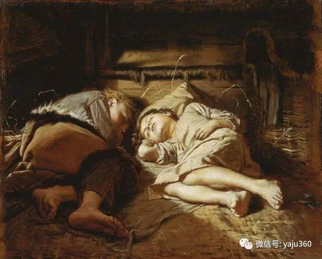 睡觉的孩子插图1