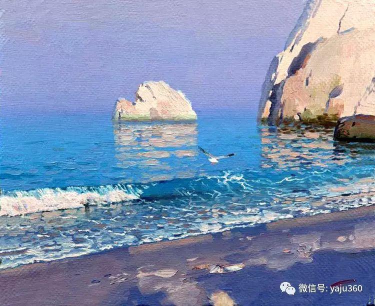 俄罗斯Bato Dugarjapov风景油画作品插图1