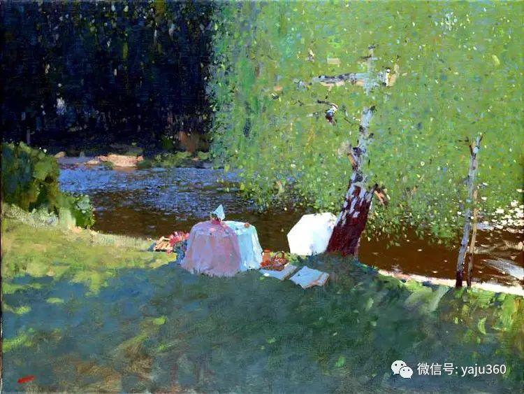 俄罗斯Bato Dugarjapov风景油画作品插图3