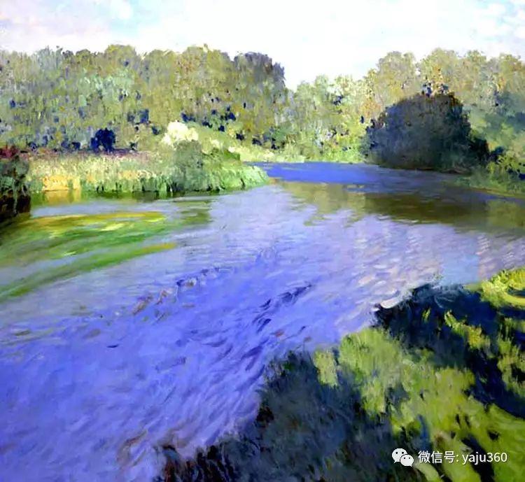 俄罗斯Bato Dugarjapov风景油画作品插图5