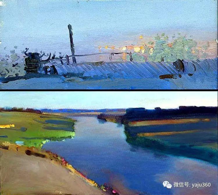 俄罗斯Bato Dugarjapov风景油画作品插图31