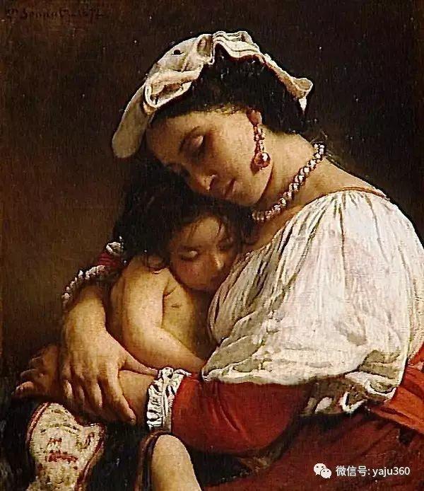 法国画家的人物肖像油画插图9
