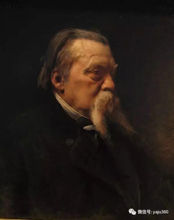 法国画家的人物肖像油画插图11