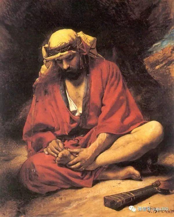 法国画家的人物肖像油画插图15