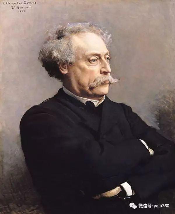 法国画家的人物肖像油画插图19