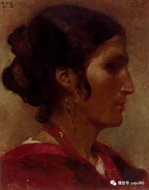 法国画家的人物肖像油画插图21