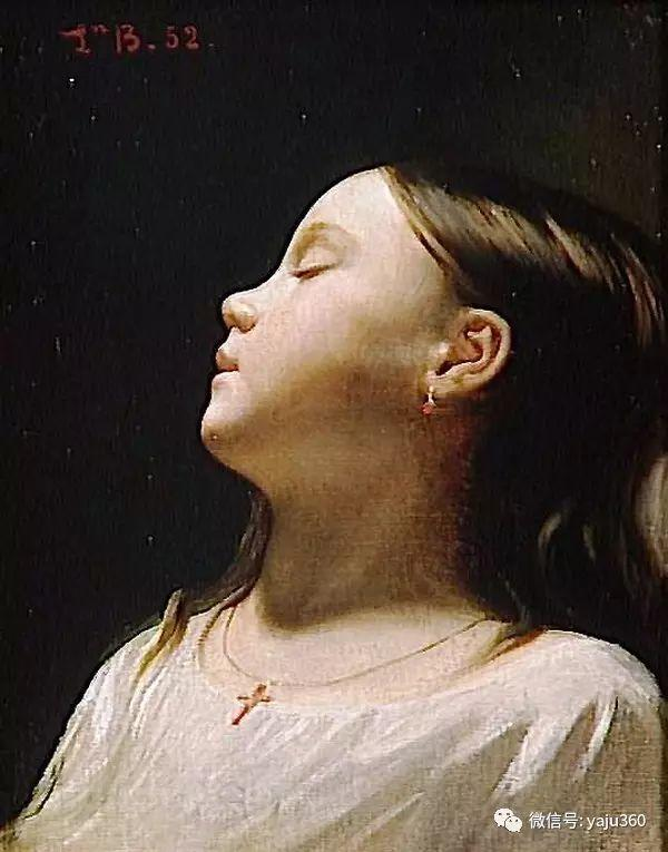 法国画家的人物肖像油画插图23