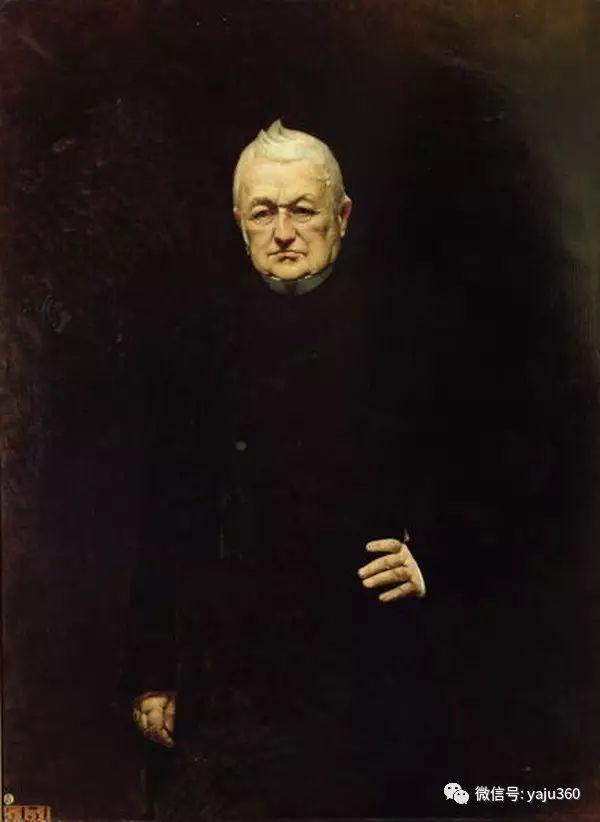 法国画家的人物肖像油画插图29