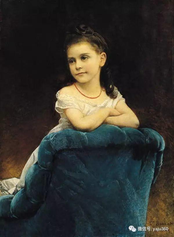 法国画家的人物肖像油画插图31