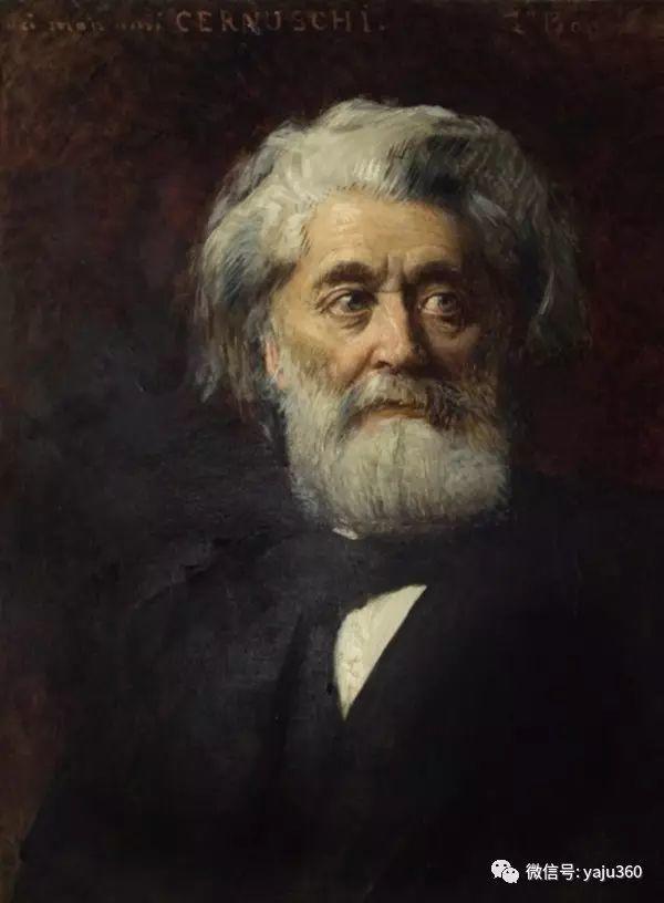 法国画家的人物肖像油画插图33