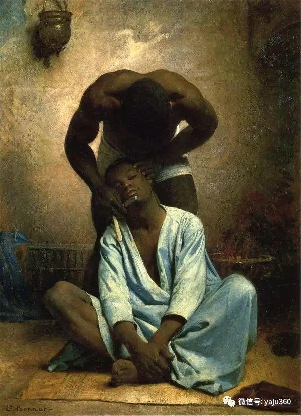 法国画家的人物肖像油画插图39