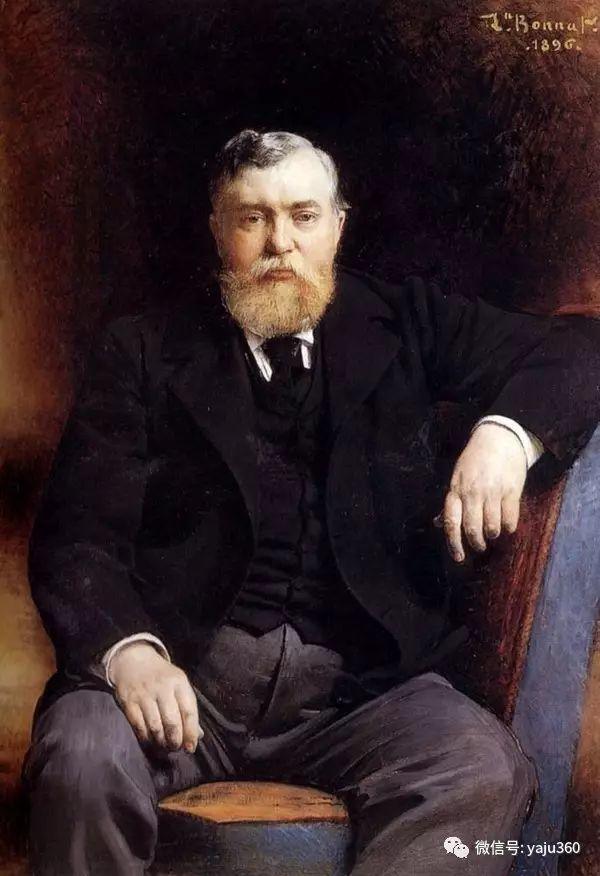 法国画家的人物肖像油画插图45