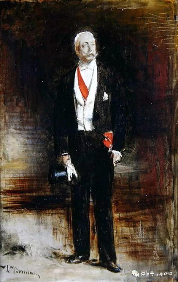 法国画家的人物肖像油画插图47