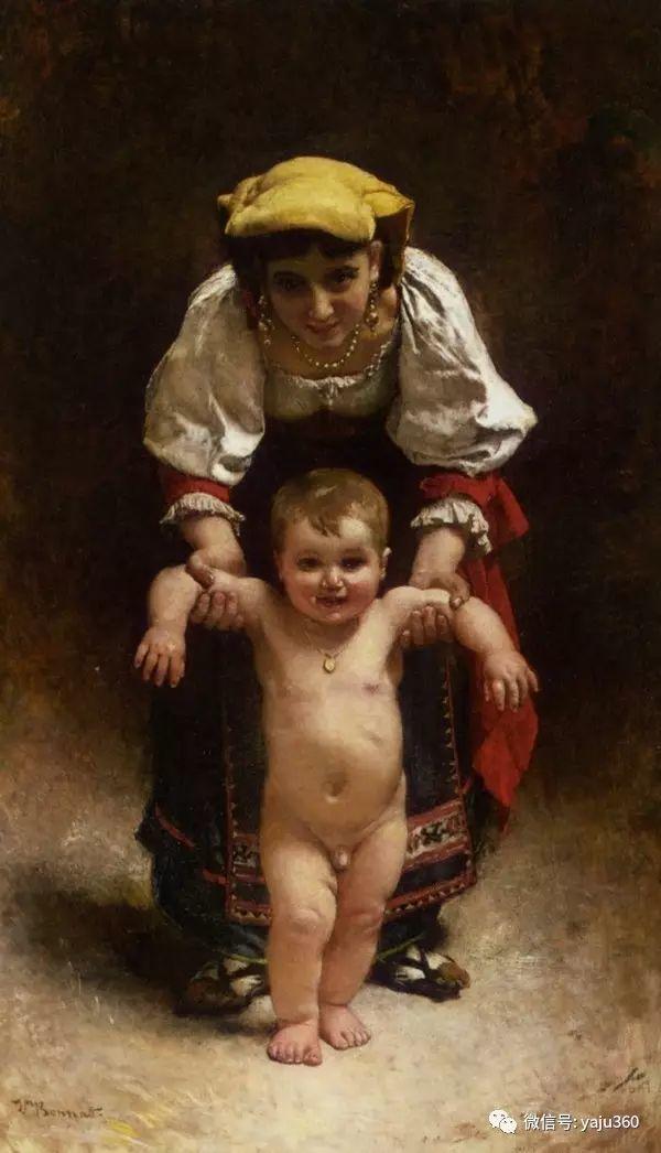 法国画家的人物肖像油画插图49