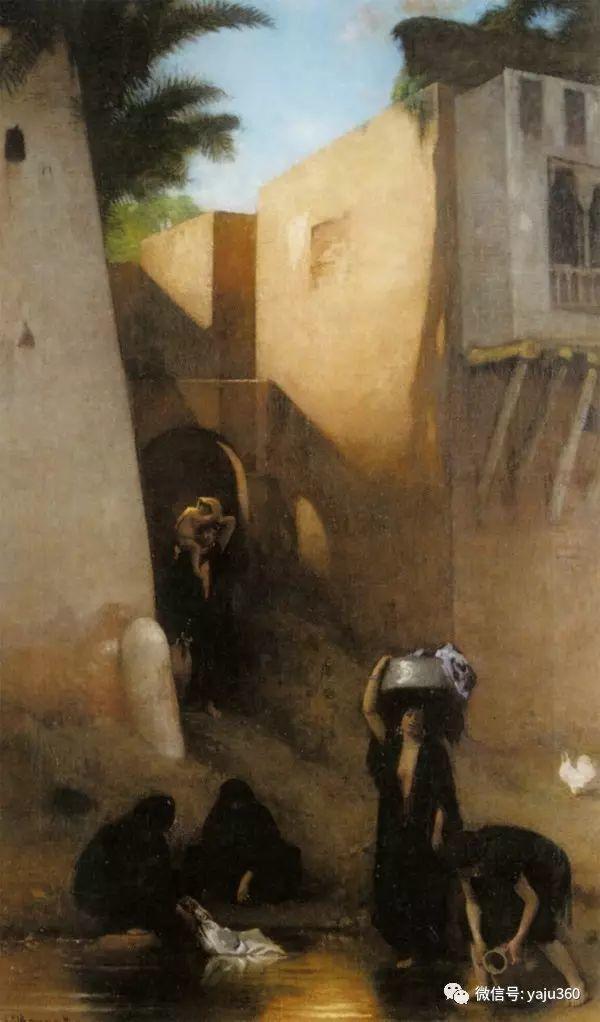 法国画家的人物肖像油画插图51