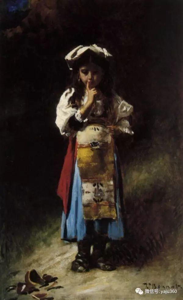法国画家的人物肖像油画插图55