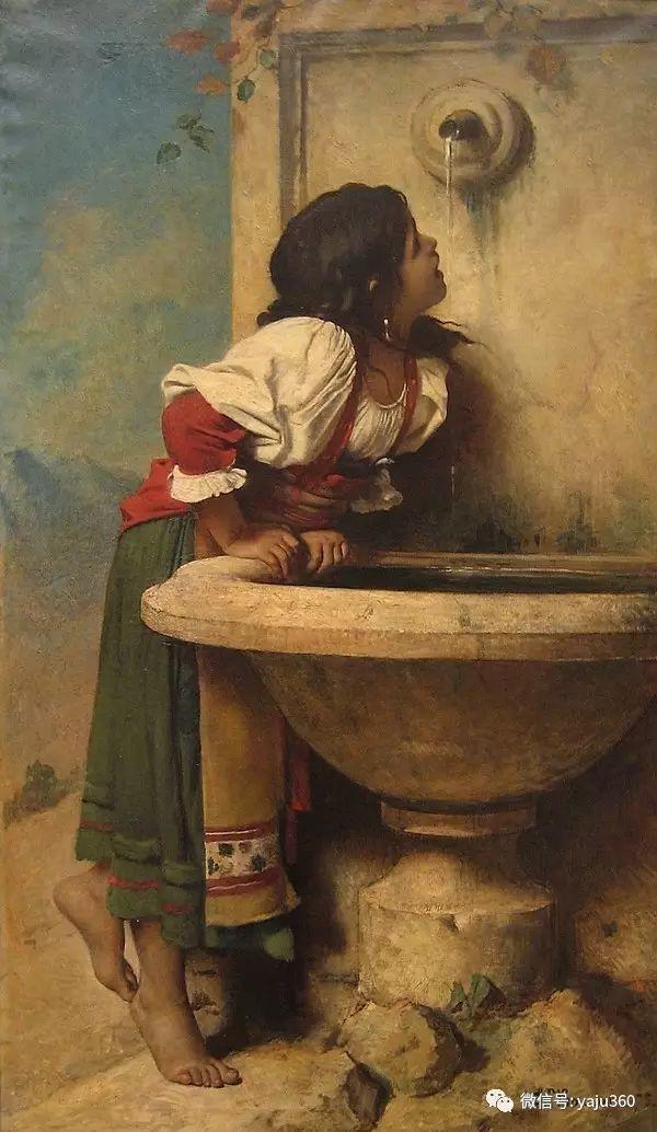 法国画家的人物肖像油画插图57