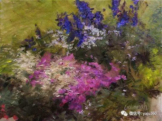 花卉静物 美国Richard Kochenash作品赏析插图7