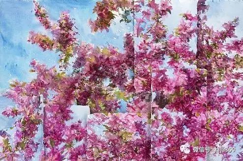 花卉静物 美国Richard Kochenash作品赏析插图29