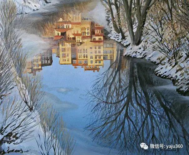 风景油画 保加利亚Kiril Stanchev作品插图1