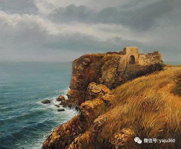 风景油画 保加利亚Kiril Stanchev作品插图7