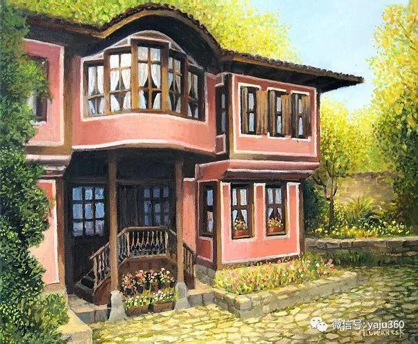 风景油画 保加利亚Kiril Stanchev作品插图9