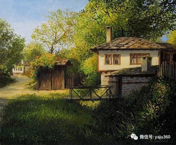 风景油画 保加利亚Kiril Stanchev作品插图11