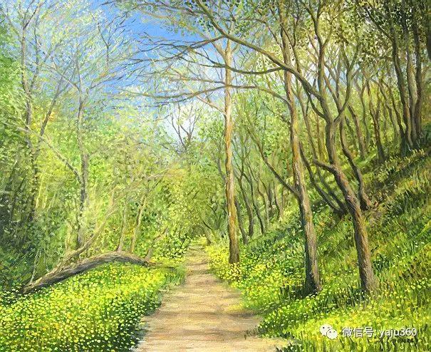 风景油画 保加利亚Kiril Stanchev作品插图13