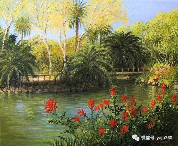 风景油画 保加利亚Kiril Stanchev作品插图19