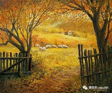 风景油画 保加利亚Kiril Stanchev作品插图27