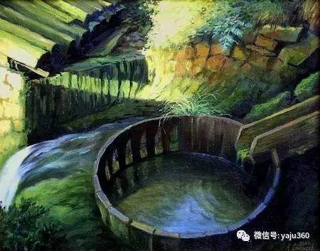风景油画 保加利亚Kiril Stanchev作品插图31