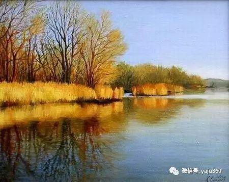 风景油画 保加利亚Kiril Stanchev作品插图33
