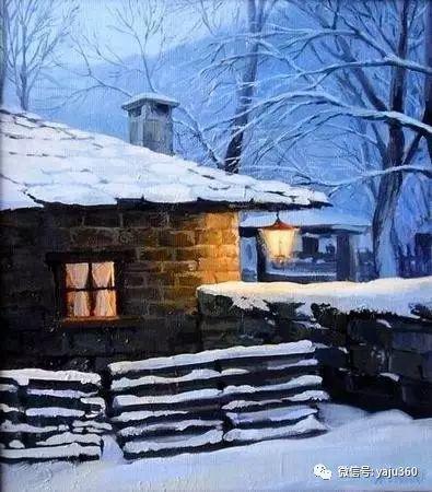 风景油画 保加利亚Kiril Stanchev作品插图37