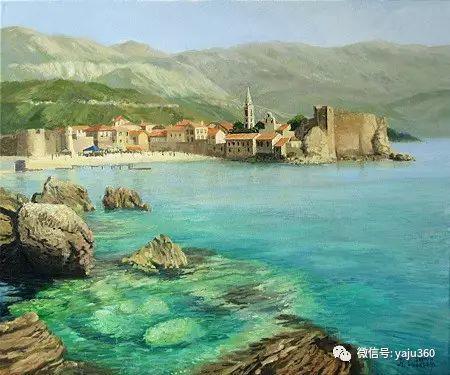 风景油画 保加利亚Kiril Stanchev作品插图43