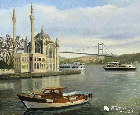 风景油画 保加利亚Kiril Stanchev作品插图45