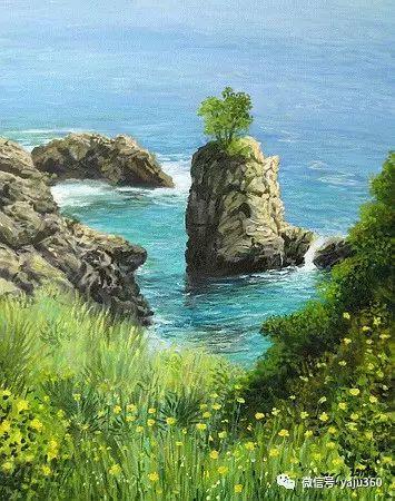 风景油画 保加利亚Kiril Stanchev作品插图47