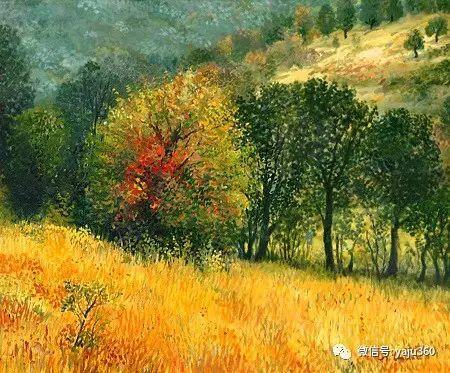 风景油画 保加利亚Kiril Stanchev作品插图51