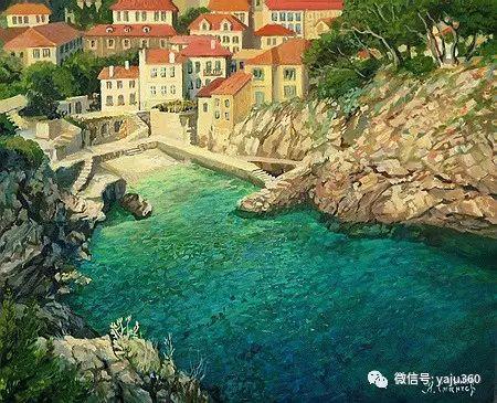 风景油画 保加利亚Kiril Stanchev作品插图57