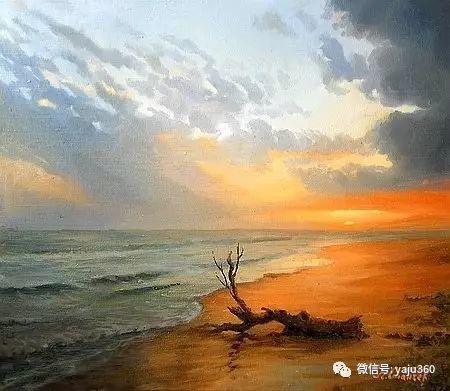 风景油画 保加利亚Kiril Stanchev作品插图59