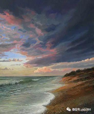 风景油画 保加利亚Kiril Stanchev作品插图61