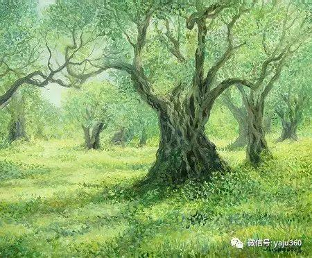 风景油画 保加利亚Kiril Stanchev作品插图65