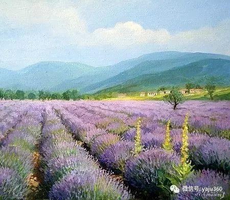 风景油画 保加利亚Kiril Stanchev作品插图67