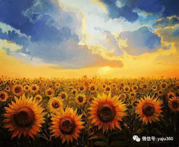 风景油画 保加利亚Kiril Stanchev作品插图69