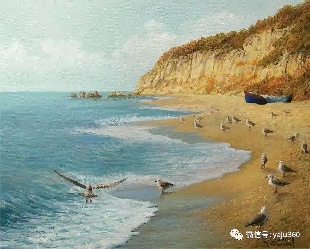 风景油画 保加利亚Kiril Stanchev作品插图73