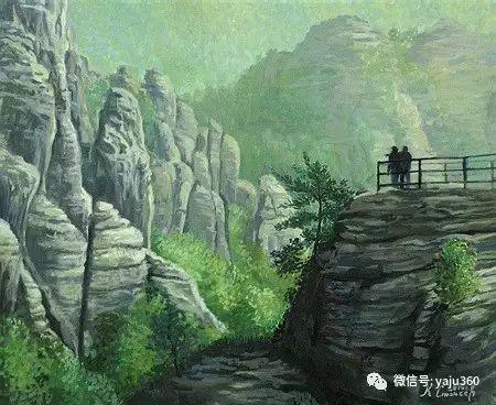 风景油画 保加利亚Kiril Stanchev作品插图79