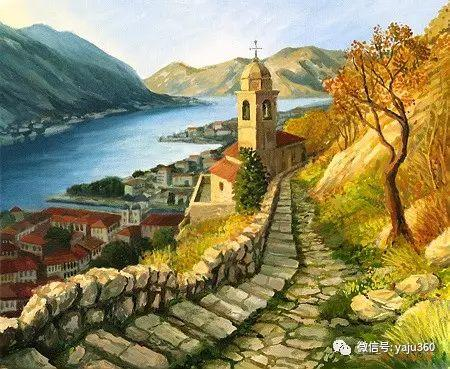 风景油画 保加利亚Kiril Stanchev作品插图83