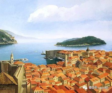 风景油画 保加利亚Kiril Stanchev作品插图87