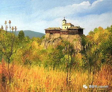 风景油画 保加利亚Kiril Stanchev作品插图89