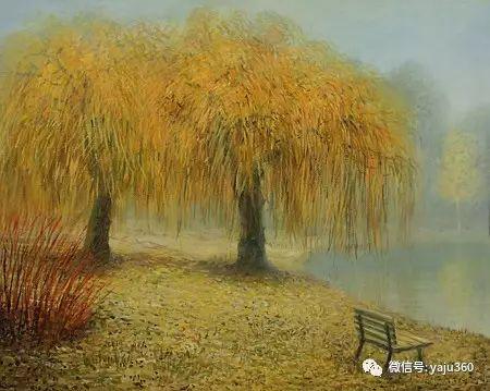 风景油画 保加利亚Kiril Stanchev作品插图91